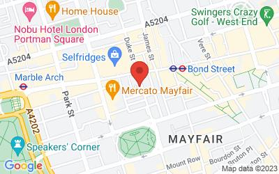 Map of Leica Mayfair