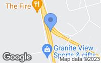Map of Delta Junction, AK