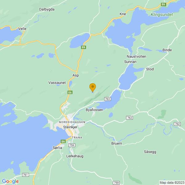 Google Map of 64.0488803,11.544880599999942