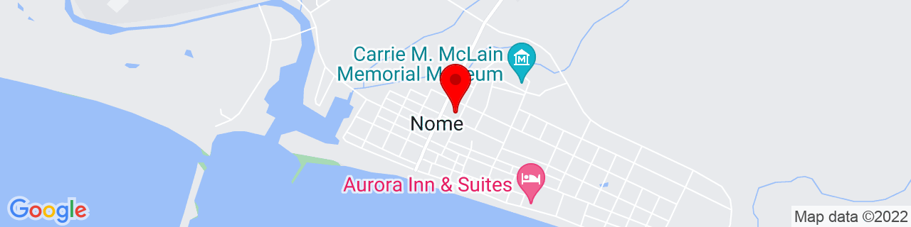 Google Map of 64.5011111, -165.4063889
