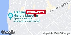 Get directions to Региональный представитель Hilti в г. Архангельск