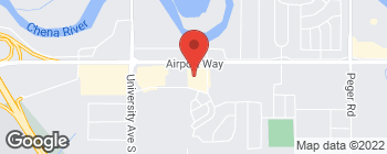 Map of 3425 Airport Way in Fairbanks