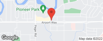 Map of 2142 Airport Way in Fairbanks