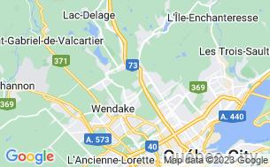 Map of Camping De La Joie