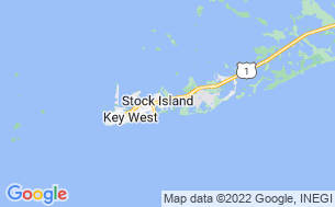 Map of Boyd's Key West Campground