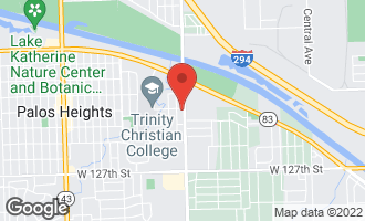Map of 6401 West 123rd Street PALOS HEIGHTS, IL 60463