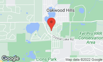 Map of 6405 Silver Lake Trail CARY, IL 60013