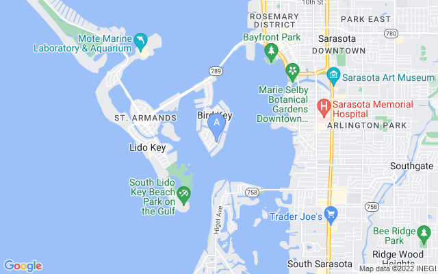 641 N Owl Dr Sarasota Florida 34236 locatior map