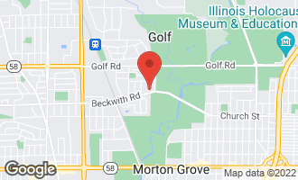 Map of 6410 Beckwith Road MORTON GROVE, IL 60053