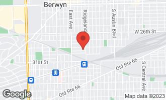 Map of 6417 28th Place BERWYN, IL 60402