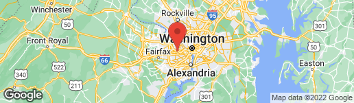 Map of 6418 22ND STREET N ARLINGTON, VA 22205