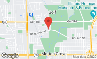 Map of 6418 Beckwith Road MORTON GROVE, IL 60053