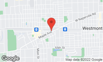 Map of 644 Maple Avenue DOWNERS GROVE, IL 60515
