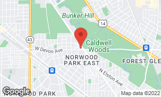 Map of 6440 West Devon Avenue #306 CHICAGO, IL 60631