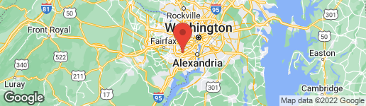 Map of 6450 FAIRLAND STREET ALEXANDRIA, VA 22312