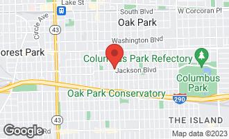 Map of 646 Clarence Avenue OAK PARK, IL 60304