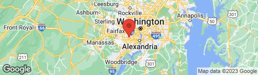 Map of 6464 OVERLOOK DRIVE ALEXANDRIA, VA 22312