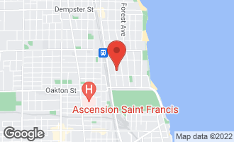 Map of 649 Hinman Avenue G EVANSTON, IL 60202