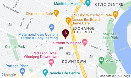 map of FLEET GALLERIES