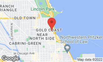Map of 65 East Goethe Street 5N CHICAGO, IL 60610