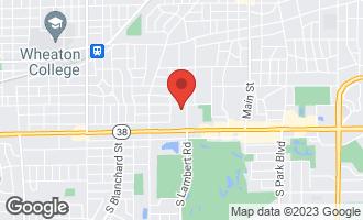 Map of 65 Kenilworth Avenue GLEN ELLYN, IL 60137