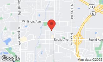 Map of 65 West Aldridge Avenue PALATINE, IL 60067