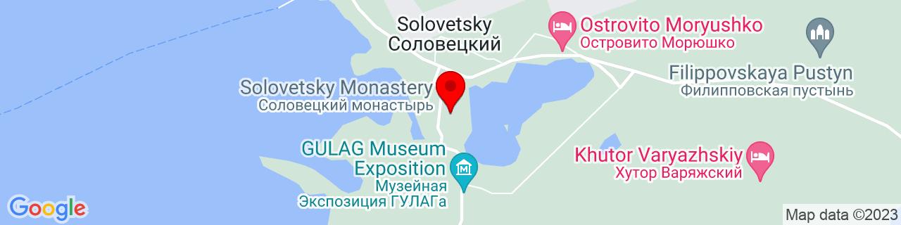 Google Map of 65.02466629999999, 35.70972879999999