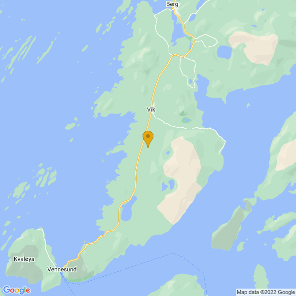Google Map of 65.2869463163319,12.162260435412614