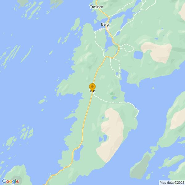 Google Map of 65.3076968,12.1671957