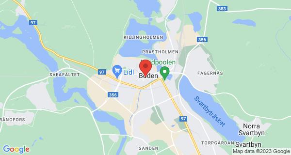 Evenemangets position på kartan