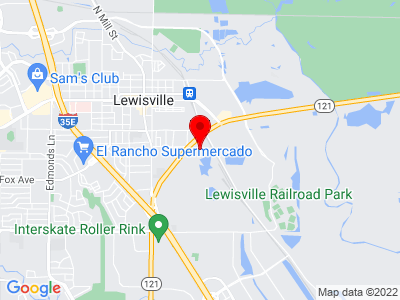 Google Map of 650 E. State Highway 121 , Ste. 412 Lewisville, Texas 75057