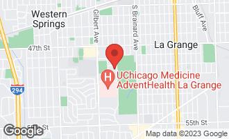 Map of 650 South Edgewood Lane LA GRANGE, IL 60525