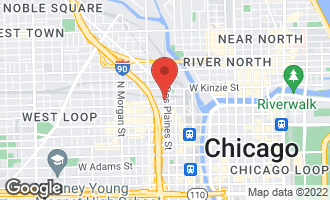 Map of 650 West Wayman Street 608C CHICAGO, IL 60661