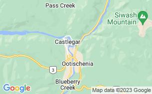 Map of Kootenay River RV Resort and Campground