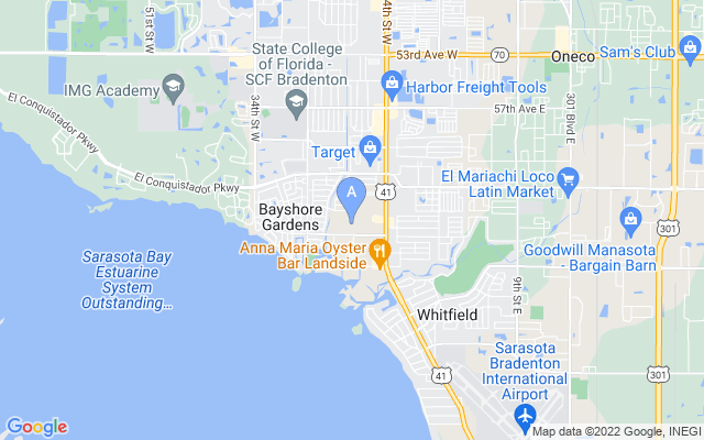 6517 Washington St Bradenton Florida 34207 locatior map