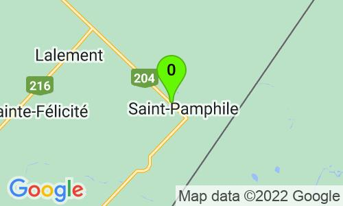 Carte du 652, rue Elgin Nord, St-Pamphile, G0R 3X0, Québec