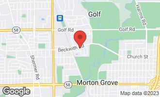 Map of 6520 Lyons Street MORTON GROVE, IL 60053