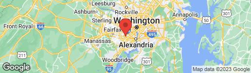 Map of 6543 GRETNA GREEN WAY ALEXANDRIA, VA 22312