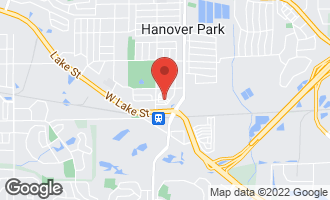 Map of 6544 Lilac Boulevard HANOVER PARK, IL 60133