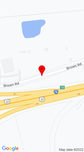 Google Map of Best Used Trucks of PA Inc. 655 Brown Road, Myerstown, PA, 17067