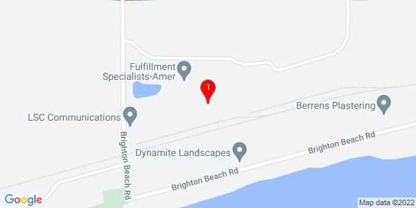 Google Map of 655 Brighton Beach Road, Menasha WI 54952