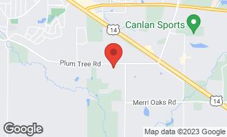Map of 655 Plum Tree Road BARRINGTON HILLS, IL 60010