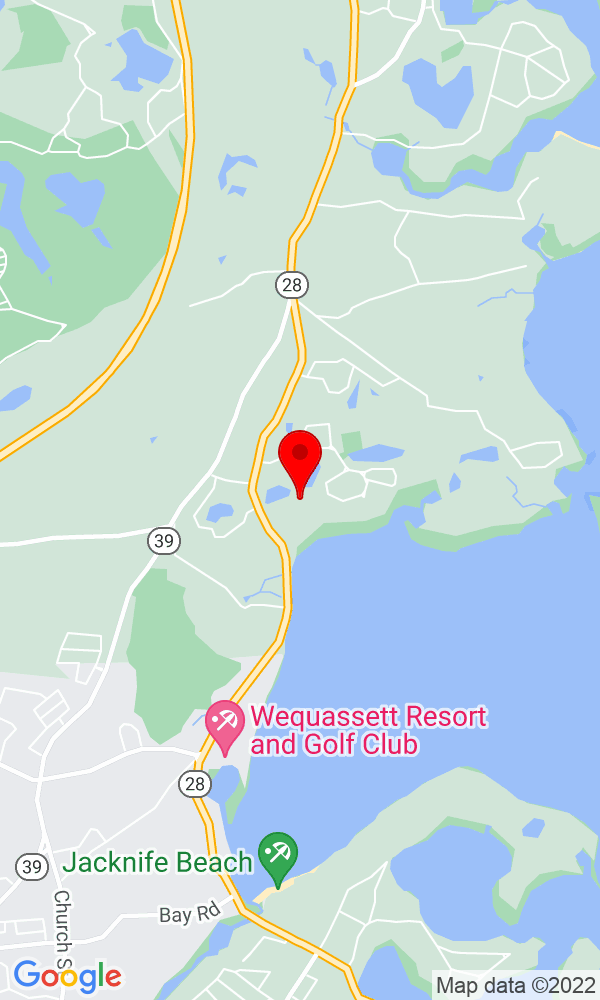 Google Map of 66 Towhee Lane Orleans MA 02653