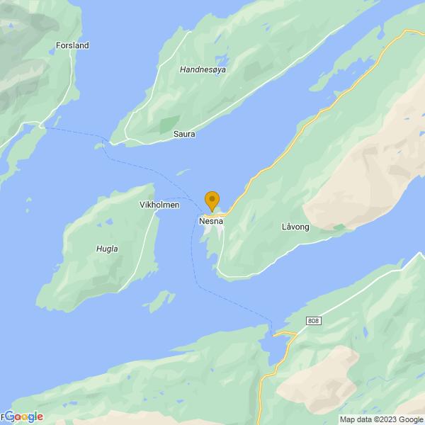 Google Map of 66.2015499618408,13.019449573697556