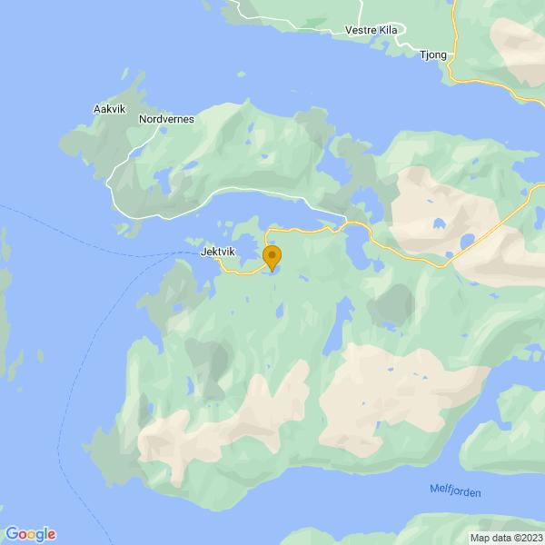Google Map of 66.6201852,13.328876100000002