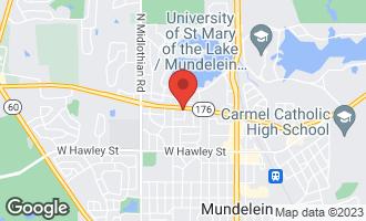 Map of 660 Blue Spruce Lane MUNDELEIN, IL 60060