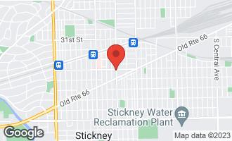 Map of 6600 34th Street BERWYN, IL 60402