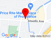 Google Map of 661 Atwells Avenue, Bldg B