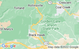 Map of Base Camp at Golden Gate Canyon