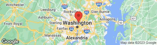 Map of 6614 2ND STREET NW WASHINGTON, DC 20012